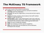 the mckinsey 7s framework6