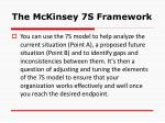 the mckinsey 7s framework8