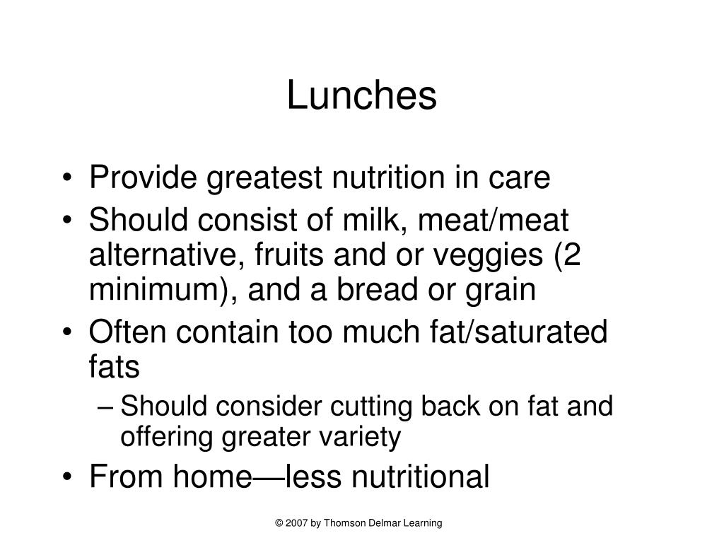 Lunches