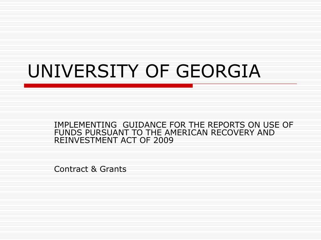 university of georgia l.