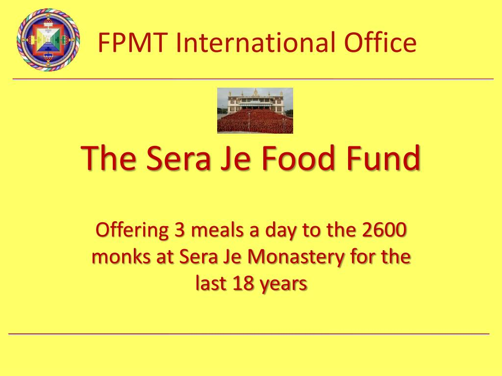 the sera je food fund l.