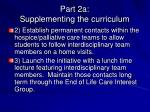 part 2a supplementing the curriculum9