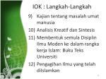 iok langkah langkah22
