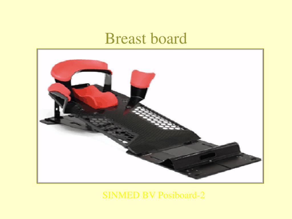 Breast board