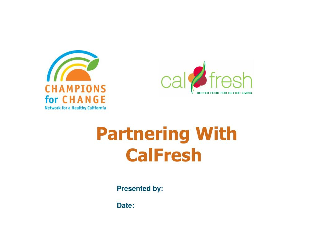 partnering with calfresh l.