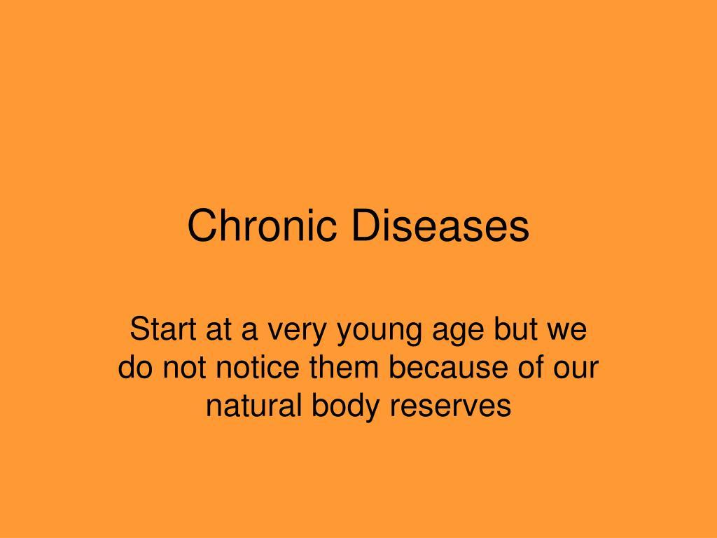 Chronic Diseases