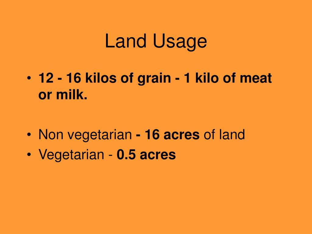 Land Usage