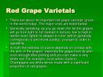 red grape varietals