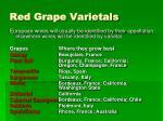 red grape varietals48