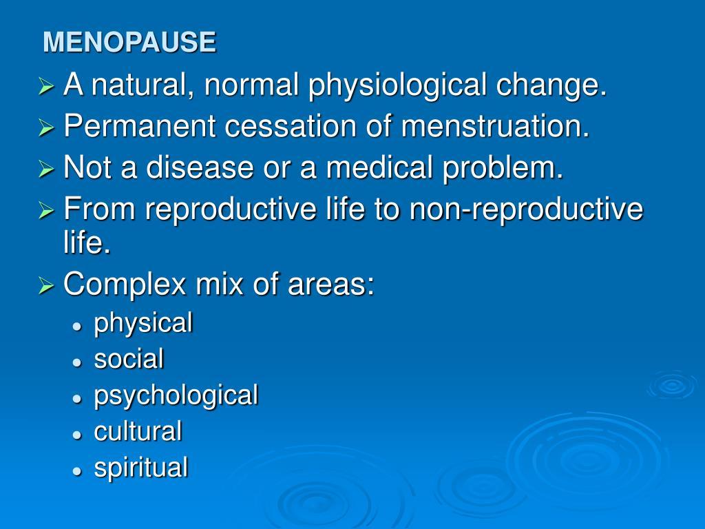menopause l.