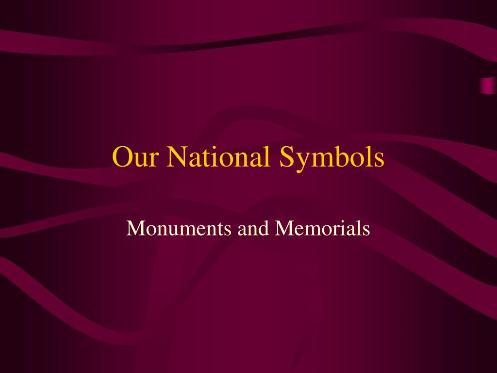 our national symbols l.