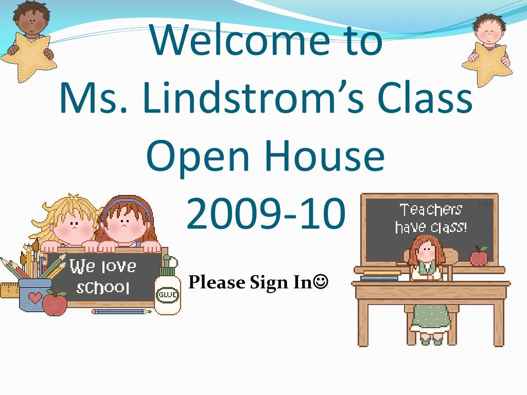 welcome to ms lindstrom s class open house 2009 10 l.