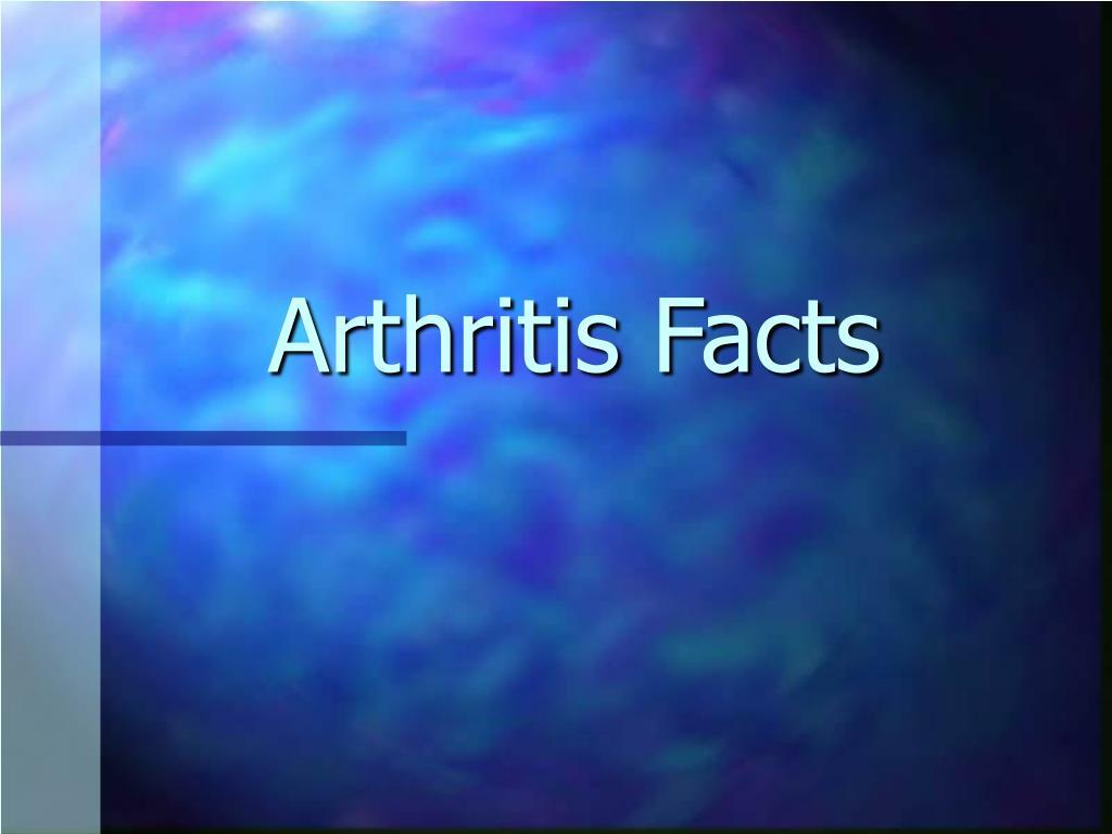 arthritis facts l.