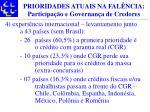prioridades atuais na fal ncia participa o e governan a de credores13