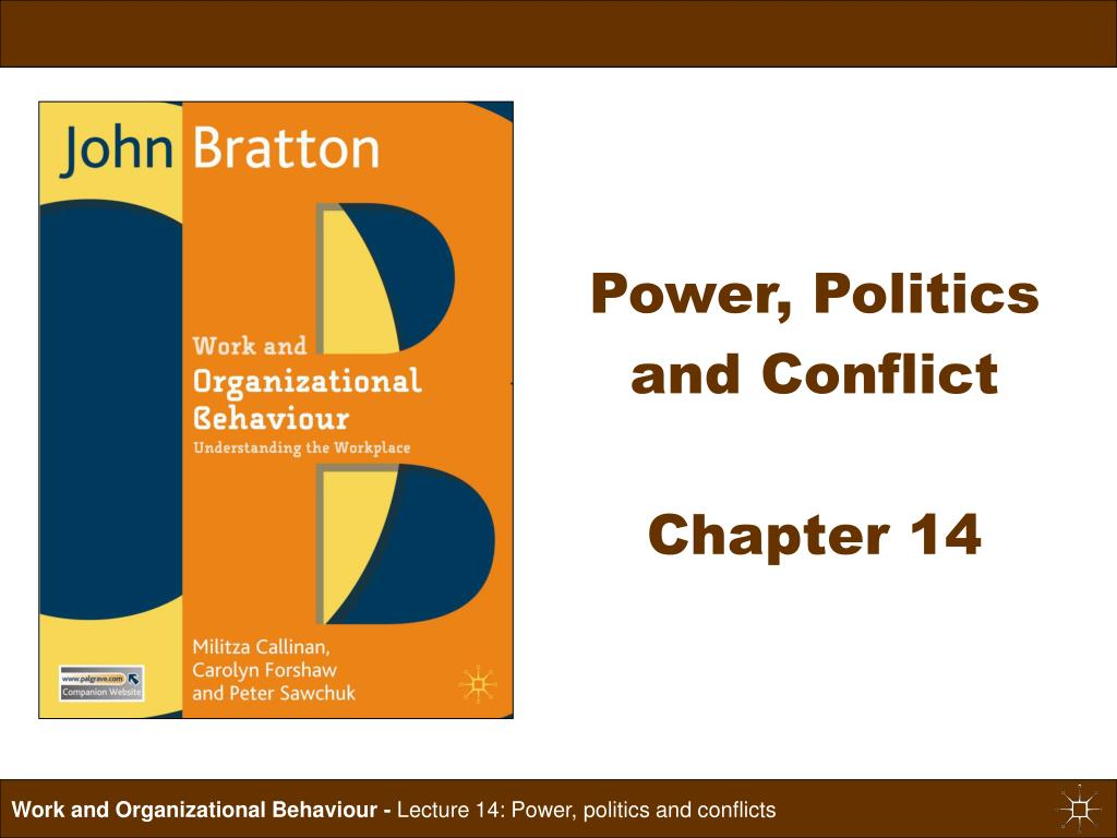 power politics and conflict chapter 14 l.