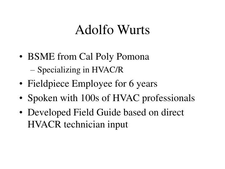 Adolfo wurts