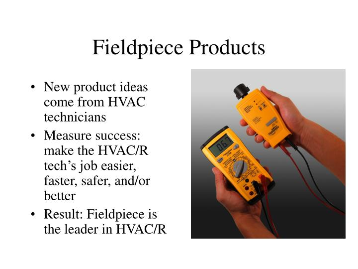 Fieldpiece Products