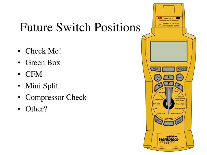 Future Switch Positions