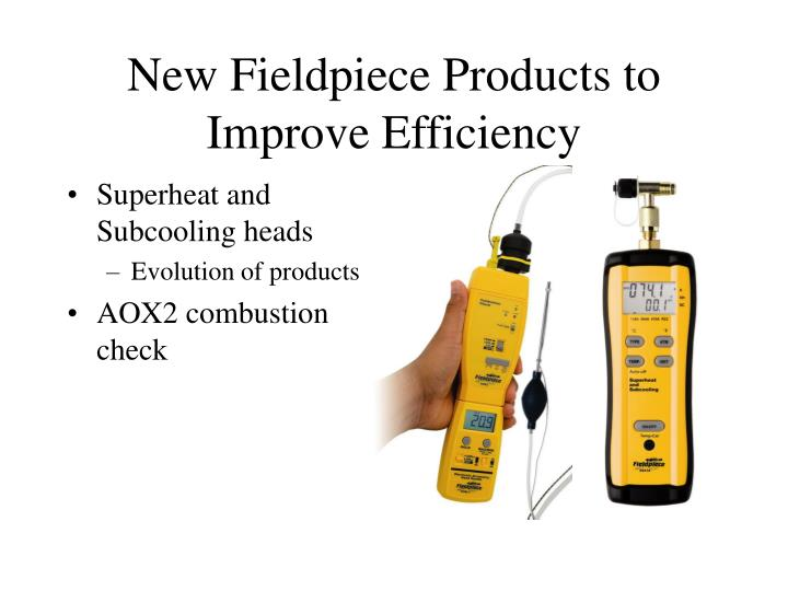 New Fieldpiece Products to Improve Efficiency