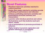 novel features13