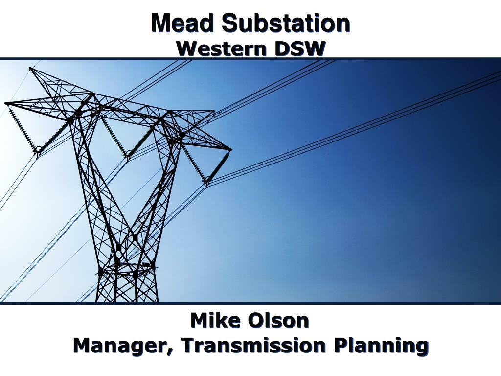 mead substation l.