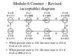 modulo 6 counter revised acceptable diagram