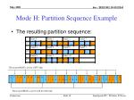mode h partition sequence example