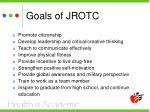 goals of jrotc