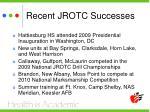recent jrotc successes