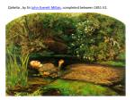 ophelia by sir john everett millais completed between 1851 52
