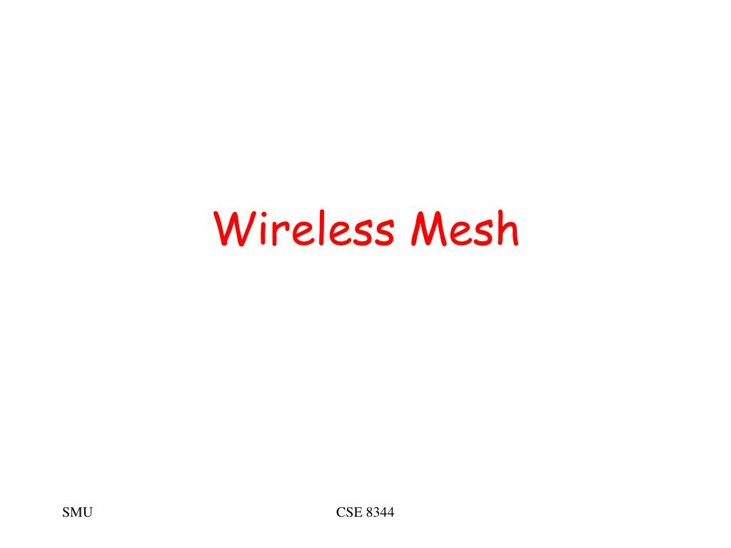 wireless mesh l.