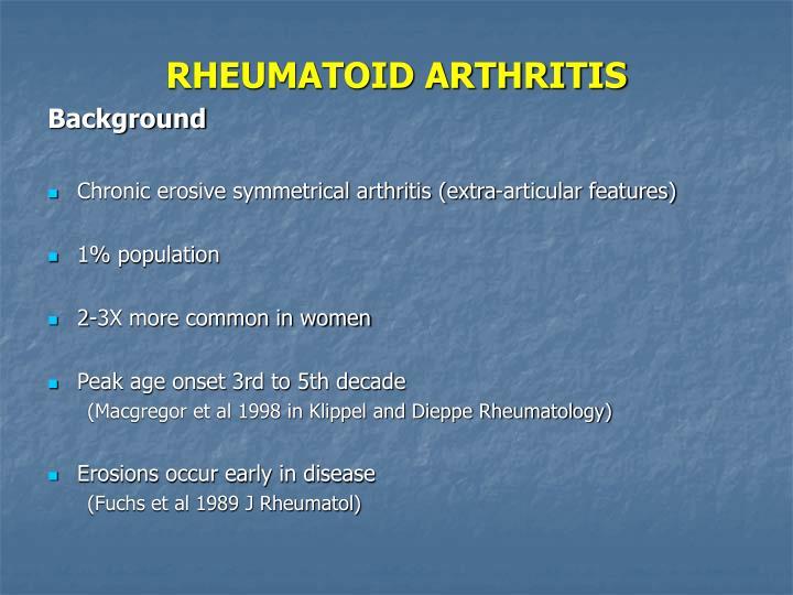Rheumatoid arthritis2