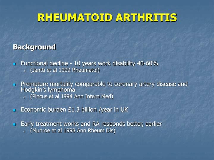 Rheumatoid arthritis3