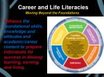 career and life literacies