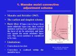 1 manabe moist convective adjustment scheme