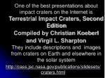 http cass jsc nasa gov publications slidesets craters html