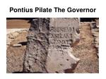 pontius pilate the governor46