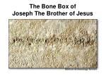 the bone box of joseph the brother of jesus51