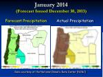 january 2014 forecast issued december 30 20139