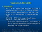 treatment of jra in 200626