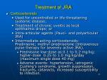 treatment of jra