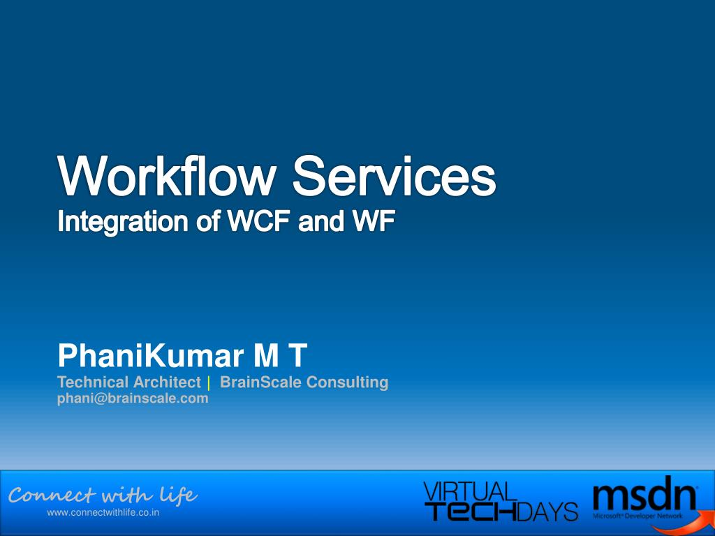 workflow services integration of wcf and wf l.