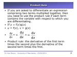 product rule28
