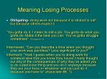 meaning losing processes20