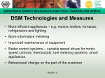 dsm technologies and measures