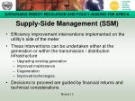 supply side management ssm