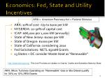 economics fed state and utility incentives