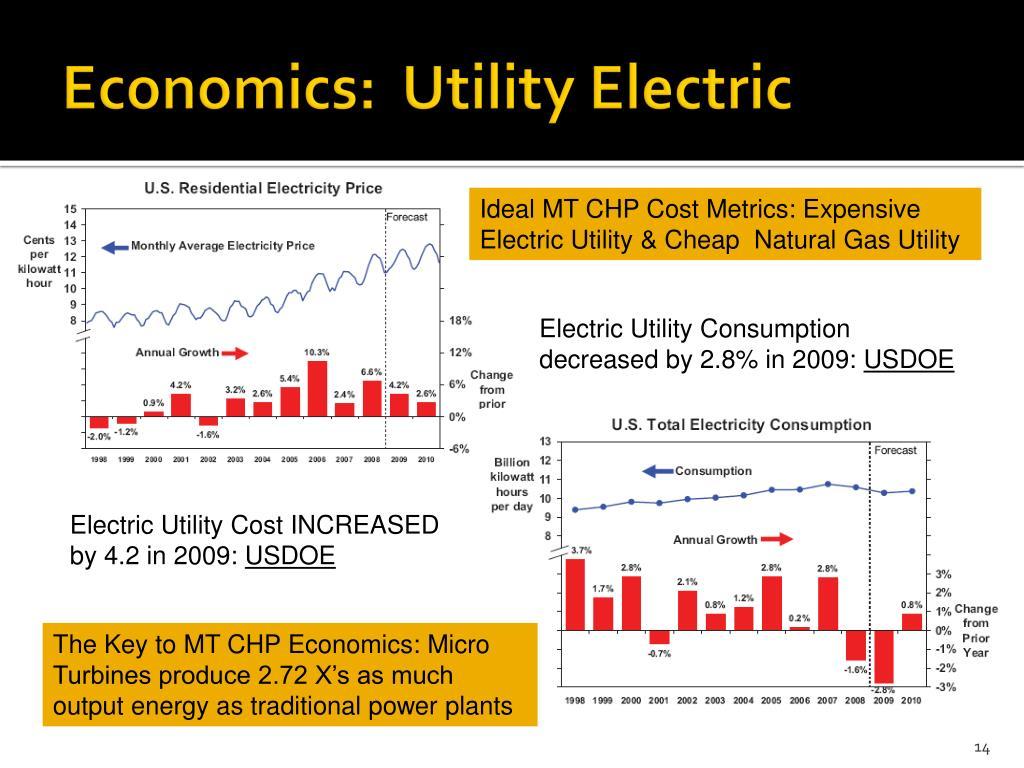 Economics:  Utility Electric