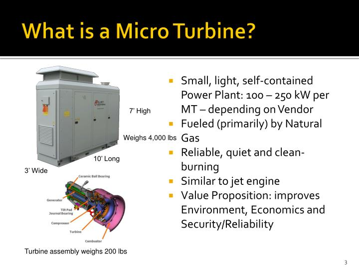 What is a micro turbine