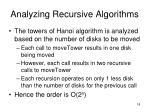 analyzing recursive algorithms18